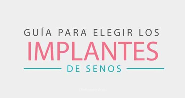 Implantes de senos ¿Cómo elegirlos?