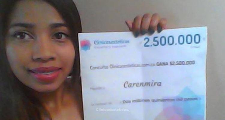 Ganadora del concurso Noviembre: Carenmira