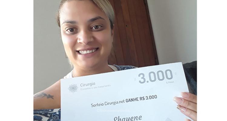 Ganadora del sorteo: nuestra afortunada de julio es Shayene