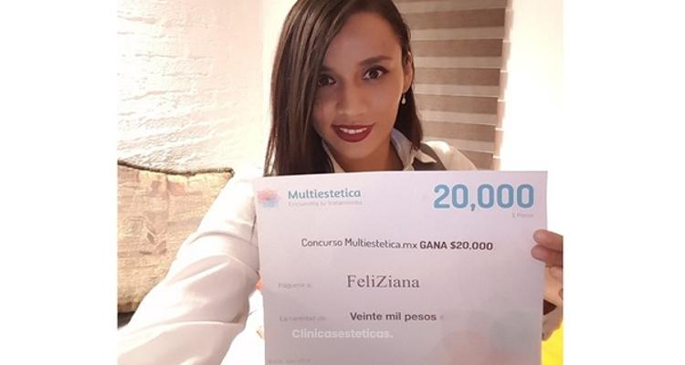 Ganadora de Junio: felicidades FeliZiana