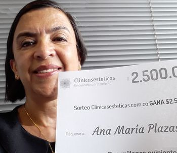 Ganadora de Julio: Ana Maria Plazas