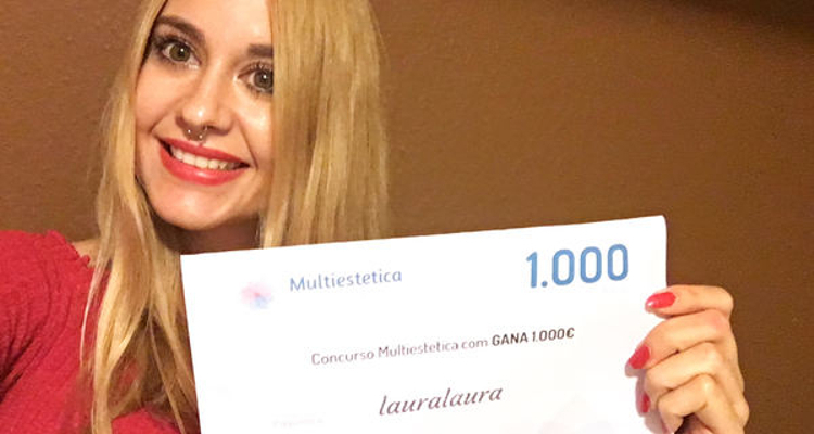 ¡Lauralaura es nuestra ganadora de Septiembre!