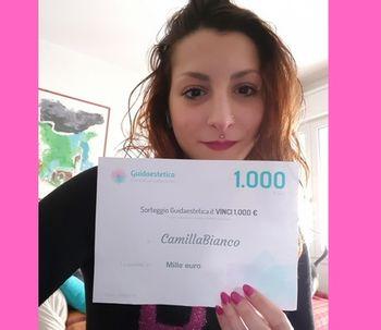 Camila Bianco nuestra ganadora de Febrero