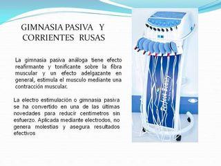 Gimnasia pasiva - Corrientes Rusas