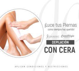 Depilacion con cera - Dr. Juan Carlos Herrera P.