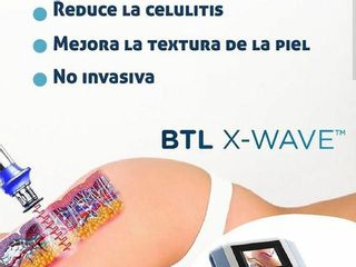 X-WAVE ELIMINA LA CELULITIS