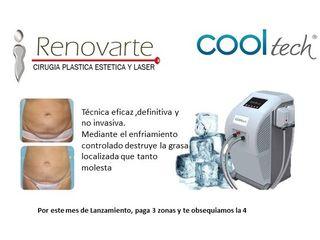 cooltech CRIOLIPOLISIS, Elimina grasa sin cirugia