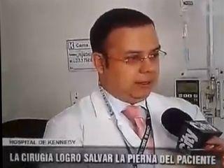 Entrevista CityTV - Revascularización exitosa de extremidad inferior