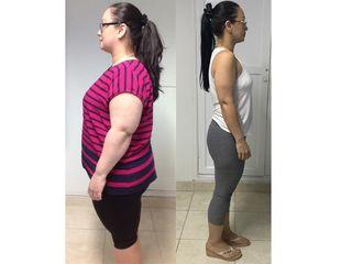 Ingrid 35 kilos 5 años.