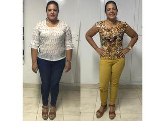 Luz Elena 6 meses 20 kilos.