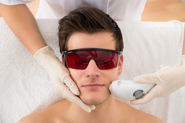 Paciente depilación laser