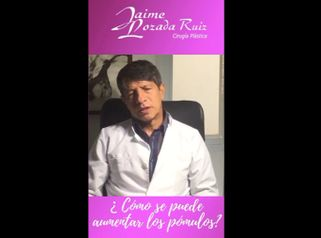 Aumento de pómulos - Dr. Jaime Lozada Ruiz