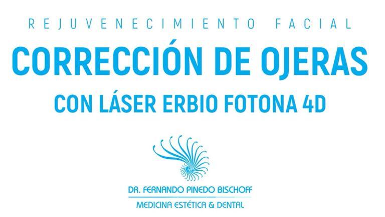 Corrección de Ojeras con Láser Erbio Fotona 4D