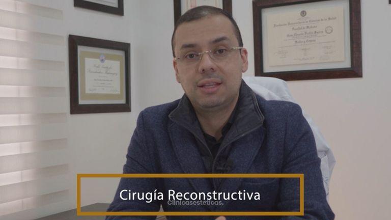 Cirugía reconstructiva - Dr. Jaime Pachón